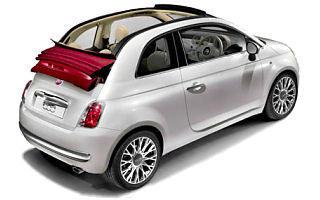Lease cheap Fiat 500 Convertible