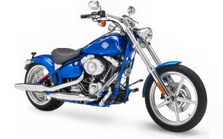 Harley Davidson Softail leasing