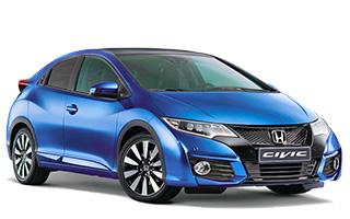 Honda Civic Pre-facelift