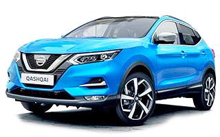 Lease cheap Nissan Qashqai