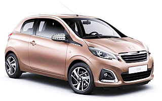 Lease cheap Peugeot 108 Top