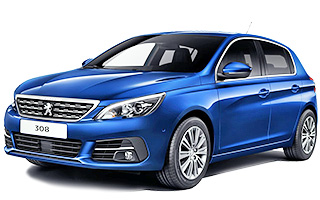 Lease cheap Peugeot 308