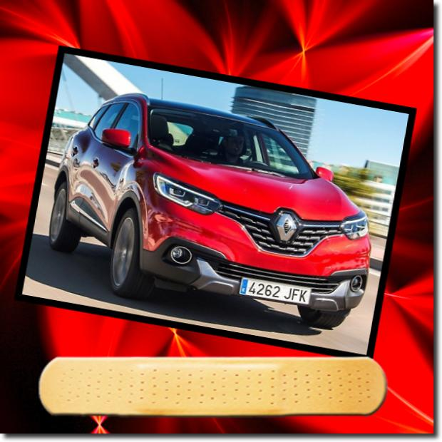 Renault Kadjar (2015 on) (2015-18)