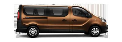Renault Trafic LWB Minibus picture, very nice