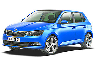 Lease cheap Skoda Fabia