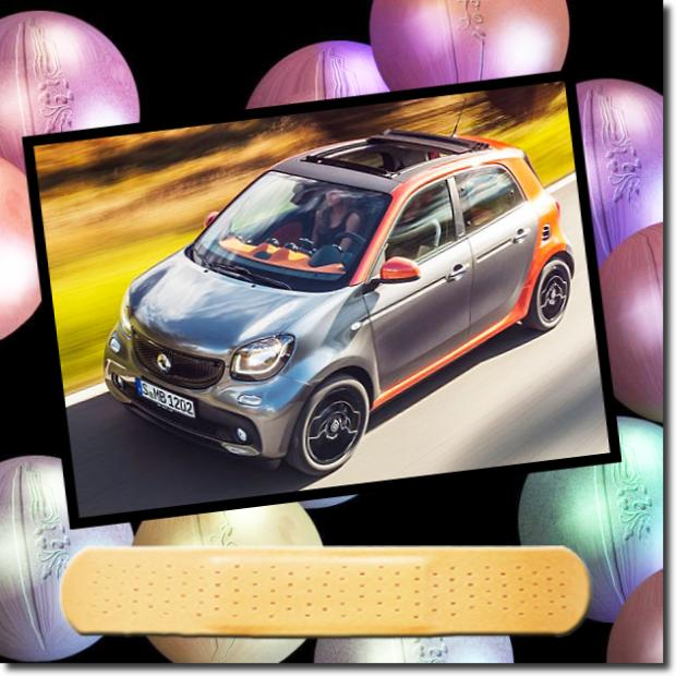 Smart ForFour Night Sky