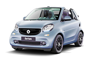 Lease cheap Smart fortwo Cabrio