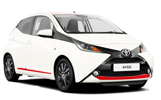 Lease cheap Toyota Aygo Funroof