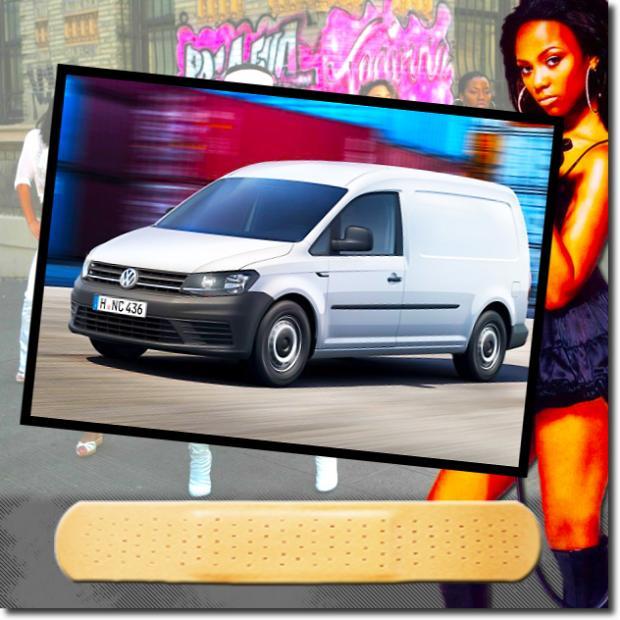 VW Caddy Combi Van