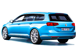 Lease cheap VW Passat Estate