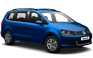 Lease cheap Volkswagen Sharan