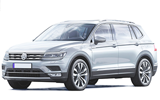 Lease cheap VW Tiguan Allspace Estate