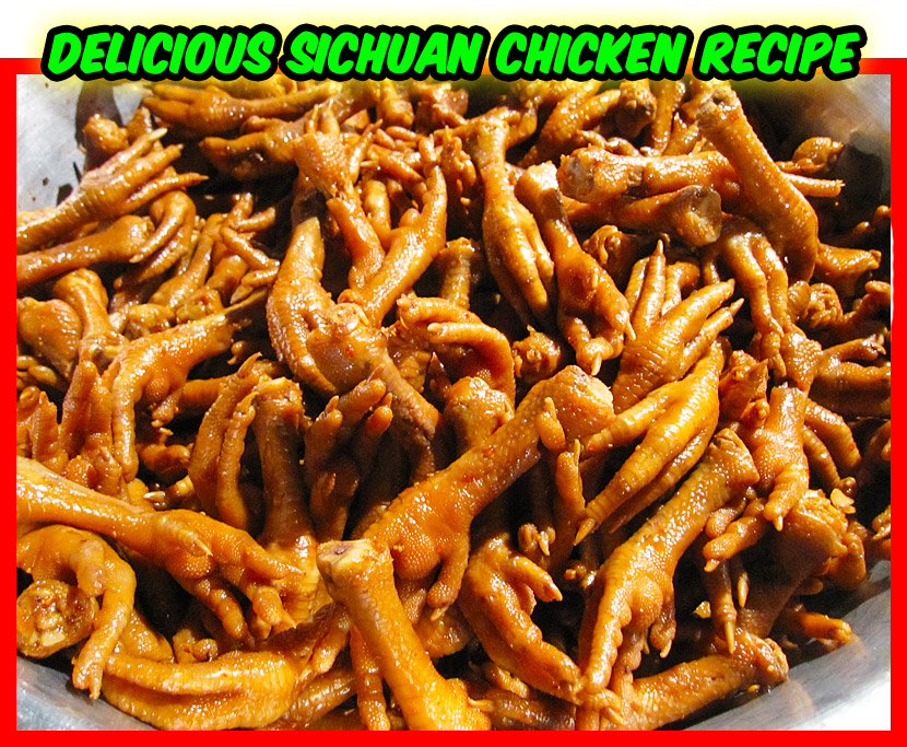 Delicious Sichuan Chicken Recipe