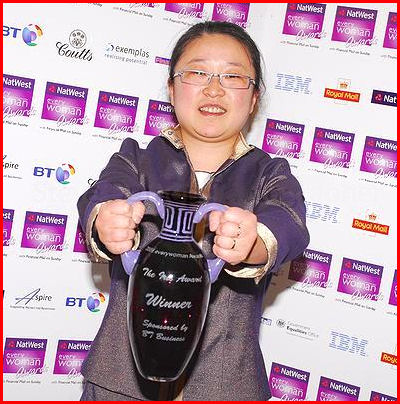 Ling is EveryWoman winner!