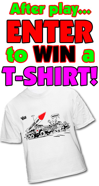 After play... Enter to win a t-shirt!