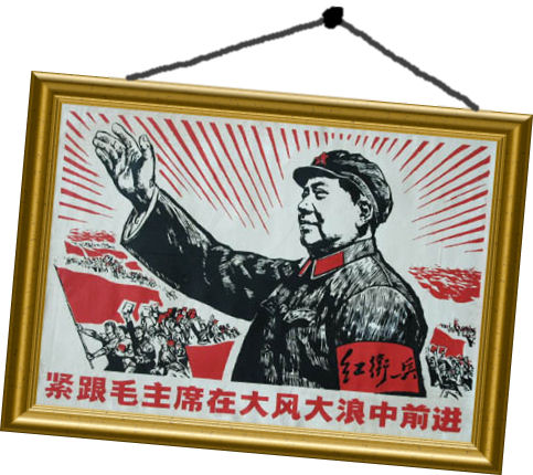 God save Mr Mao!