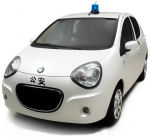 Geely Police Car