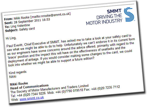 SMMT Email 1